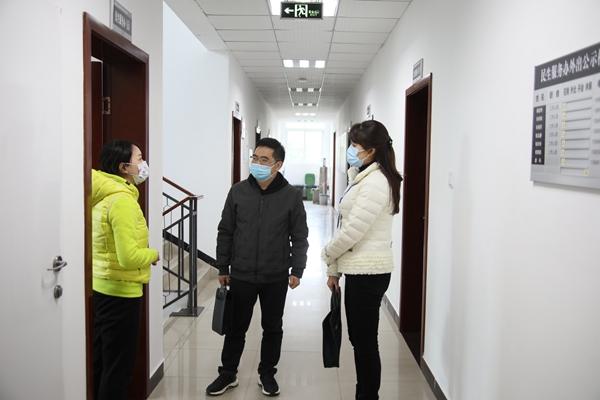 镜头丨疫情防控不松懈,监督检查保落实